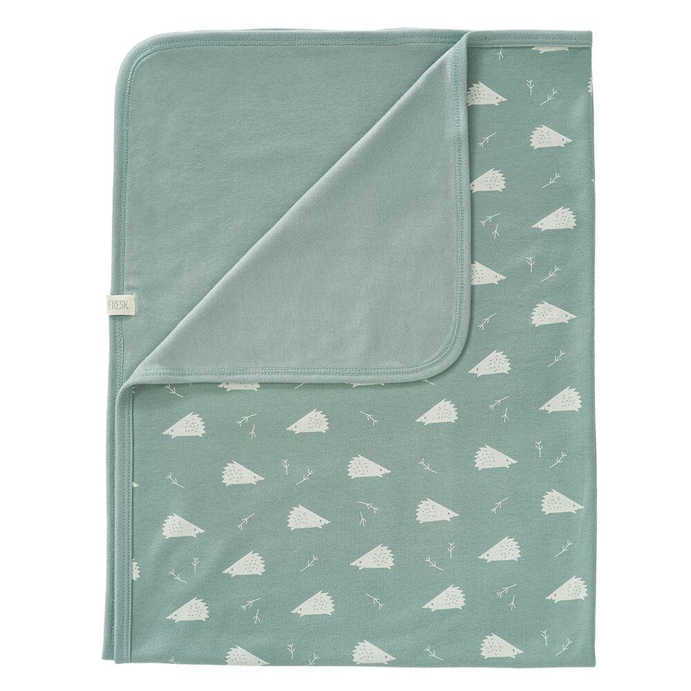 荷蘭 FRESK 有機棉嬰兒毯 (小刺蝟)