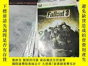二手書博民逛書店遊戲光盤罕見XBOX 360 Fallout3 (光盤編號182