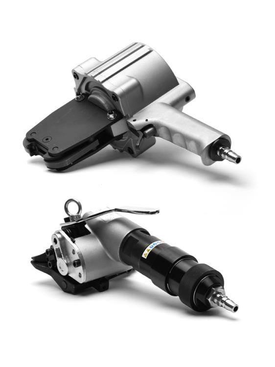 捆扎機 永派FTL分體式鋼帶打包機19-32鐵皮帶捆扎機氣動自動拉緊器手提分離式 WJ【科技】