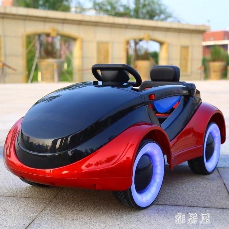 搶先福利 嬰兒兒童電動汽車4輪遙控車男女小孩搖擺四輪童車寶寶玩具車可坐人 PA17642『雅居屋』 夏季狂歡爆款