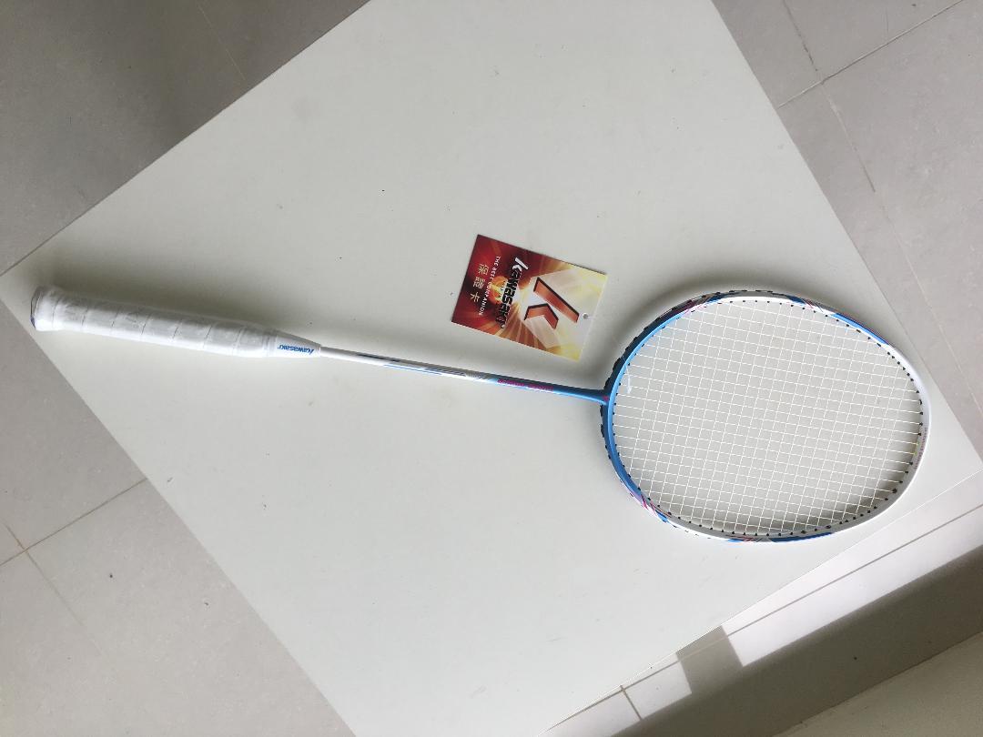 2021新款 KAWASAKI羽球拍 KBD532 SUPER POWER 全碳纖維 輕量 送羽球拍背袋