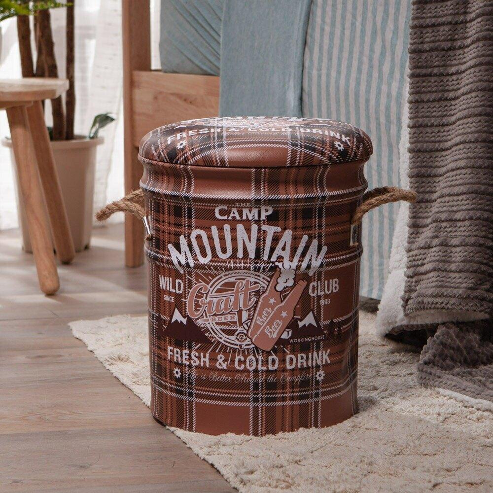 QQ鐵桶收納椅-派對狂歡-生活工場