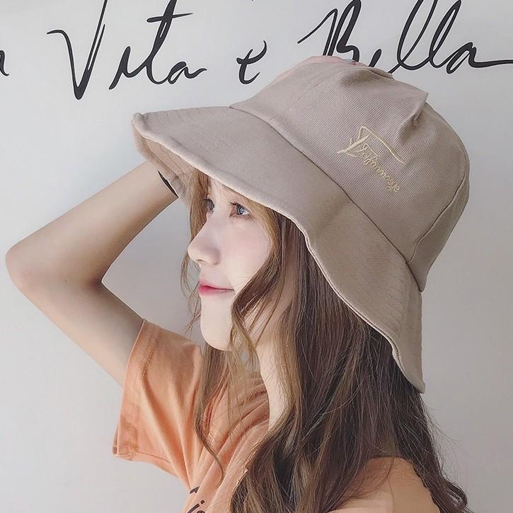 6色 夏天防曬遮陽造型時尚設計漁夫帽百搭防曬太陽帽 72137