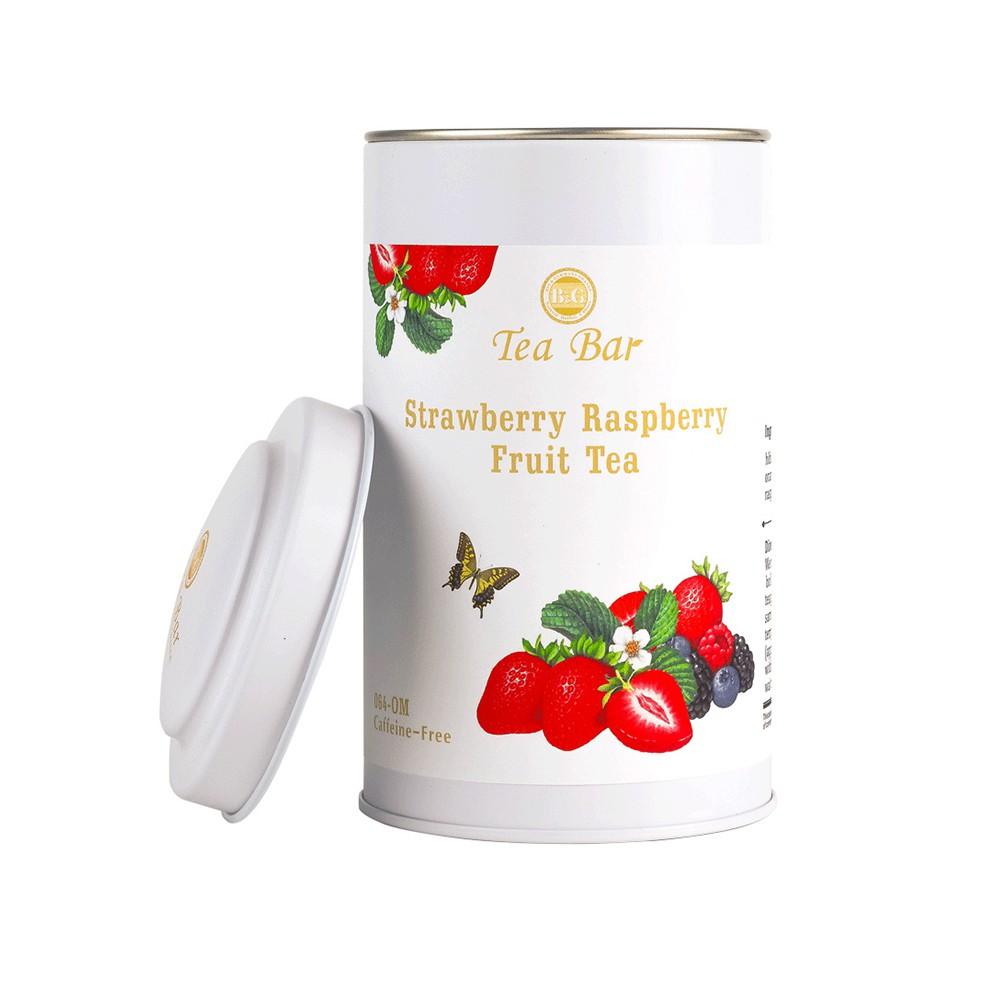 B&G 德國農莊 Tea Bar 草莓覆盆子水果茶-中瓶(160克)