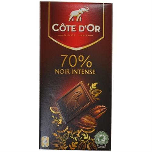 比利時Cote d'Or 大象70%黑巧克力(100g/片)[大買家]