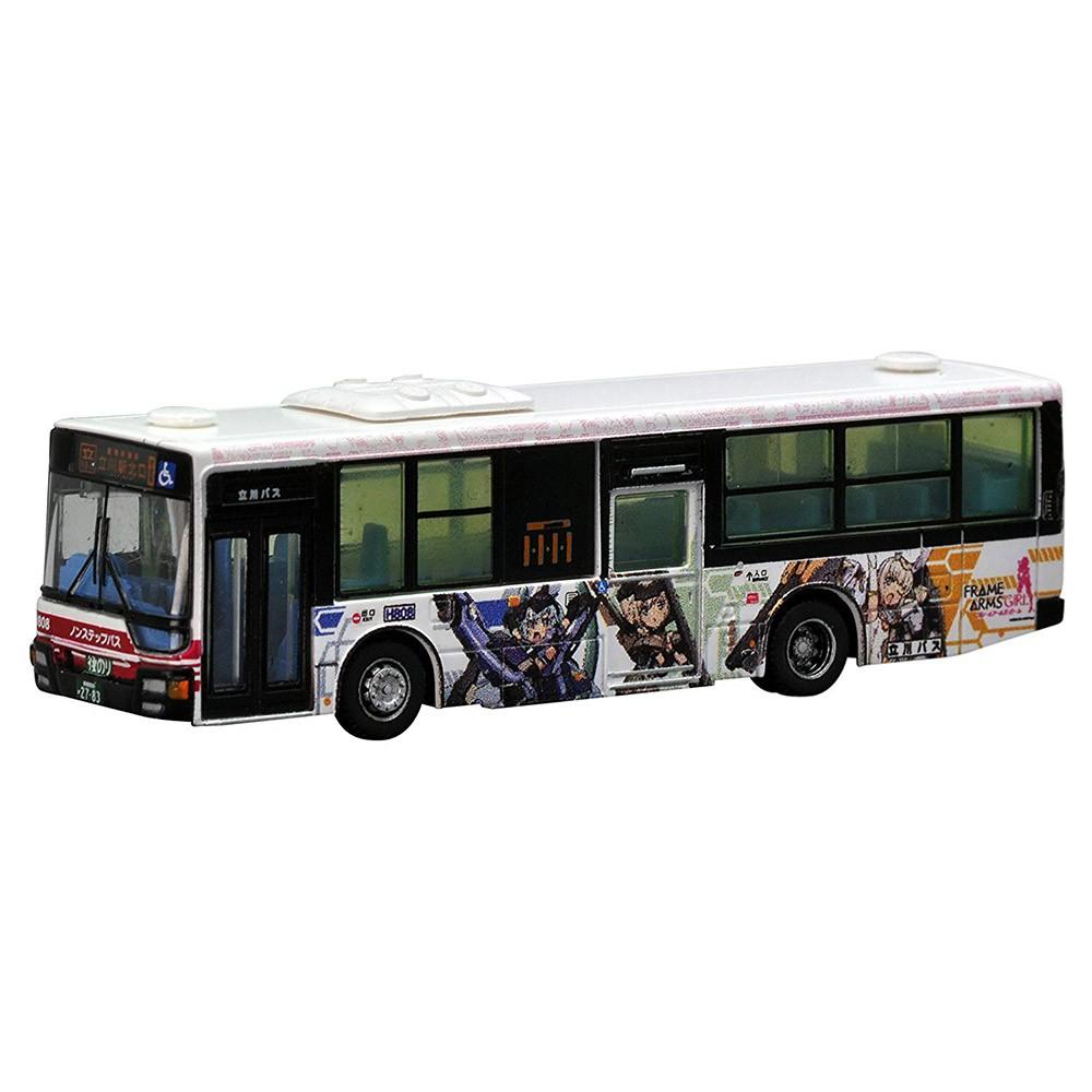 TOMYTEC 巴士收藏 立川巴士 骨裝機娘機甲少女