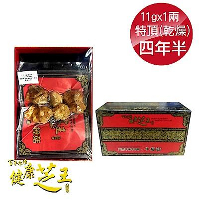 百年永續健康芝王 (四年半乾燥) 特頂大球菇牛樟芝/菇 乾燥品- 11g x1兩
