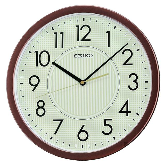 SEIKO 精工 夜光面盤大數字掛鐘-36.1cm QXA629B