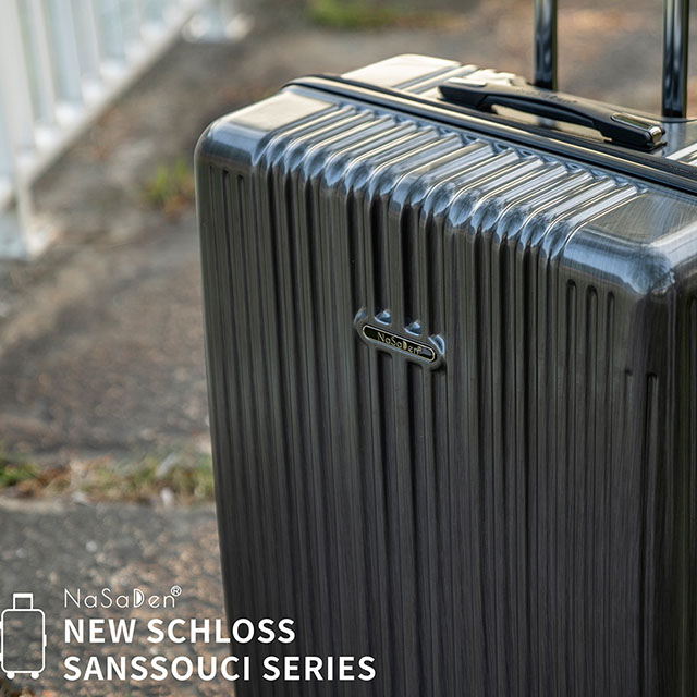 【NaSaDen 納莎登】新無憂髮絲紋系列29吋TSA海關鎖拉鍊行李箱(諾森黑)