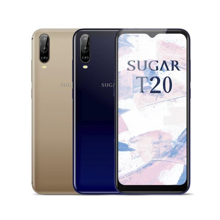 SUGAR T20 金/藍 64G 超大螢幕6.5吋 又輕盈 新品 公司貨[現貨]