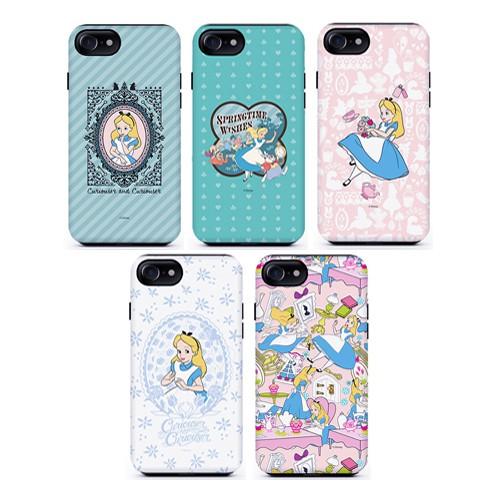 迪士尼 愛麗絲 手機殼│雙層殼│硬殼│iPhone 7 8 SE 11│z8164