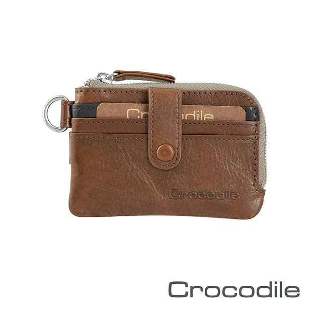 Crocodile Naturale系列 Easy輕巧零錢包 0103-08106-02