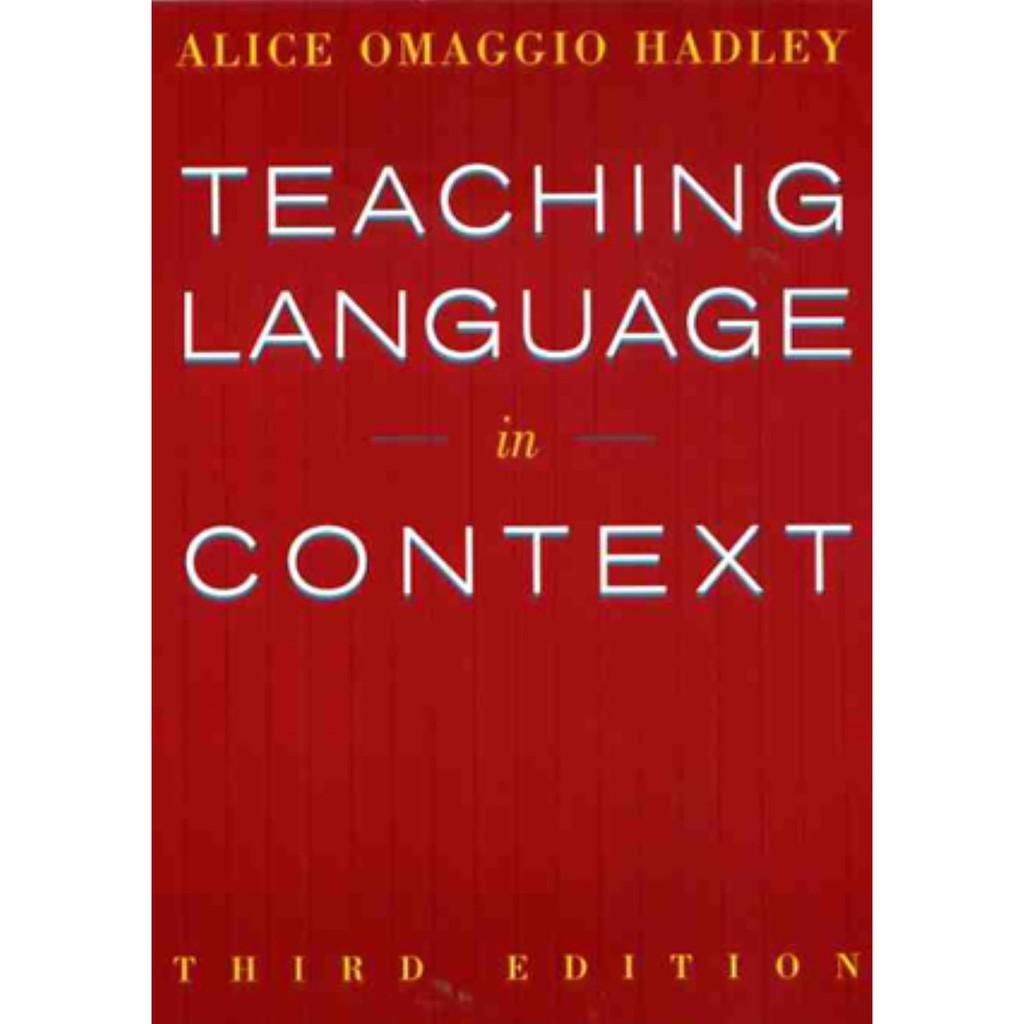 Teaching Language in Context 3/e