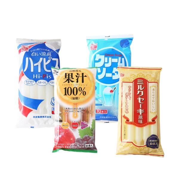 日本 光武製果 飲料棒 (10入) 630ml 乳酸飲料棒 蘇打飲料棒 綜合果汁棒