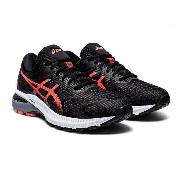 Asics Gt-2000 8 (2e) [1012A593-008] 女鞋 運動 慢跑 健身 避震 透氣 亞瑟士 黑紅