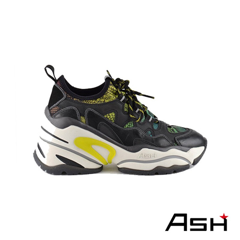 ASH BIRD BIS 增高厚底老爹鞋 黑色
