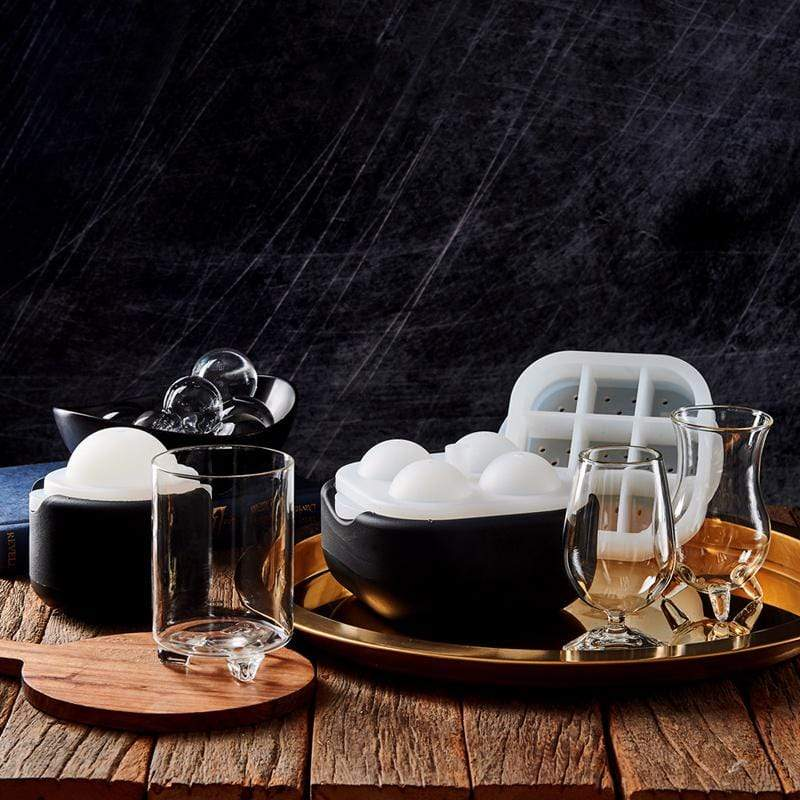 極地冰球 2.0 方圓品飲杯組 - (冰球+杯六件組)