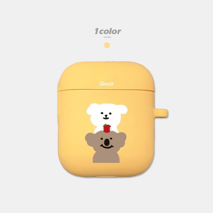韓國空運 - Sommoong Apple Koala Silicone AirPods Case 手機殼