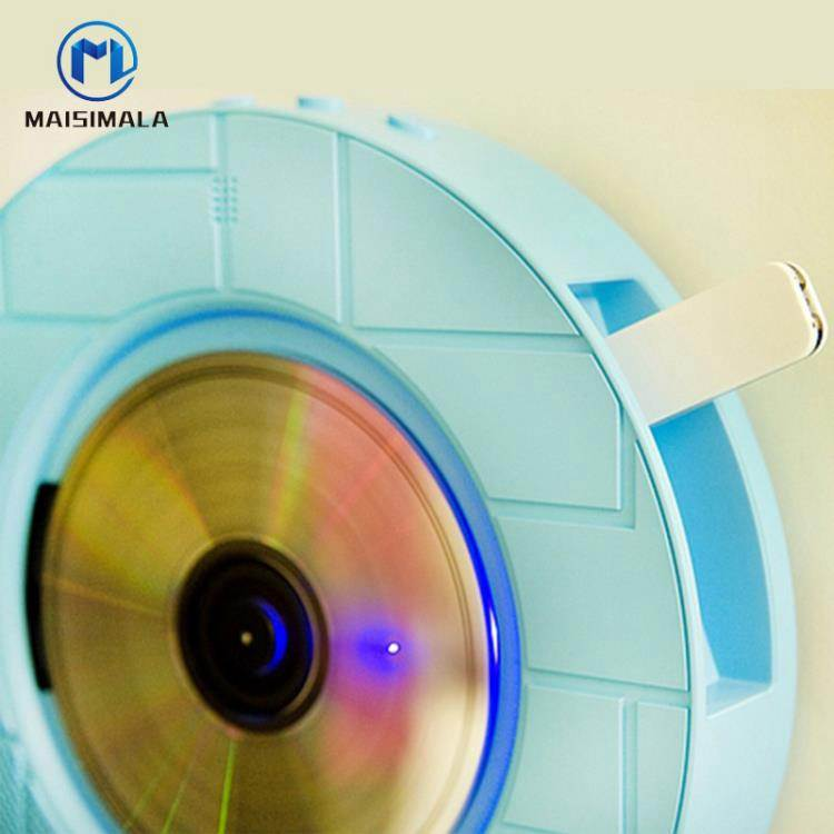 CD機 麥絲瑪拉樂動DVD學生CD機器藍芽DVD播放機復讀英語學習光盤影碟機 WJ【科技】