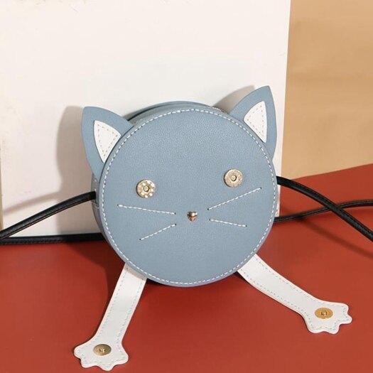 草編包 新款手工編織包包女自制作手縫diy材料包斜背自做禮物小貓包 瑪麗蘇