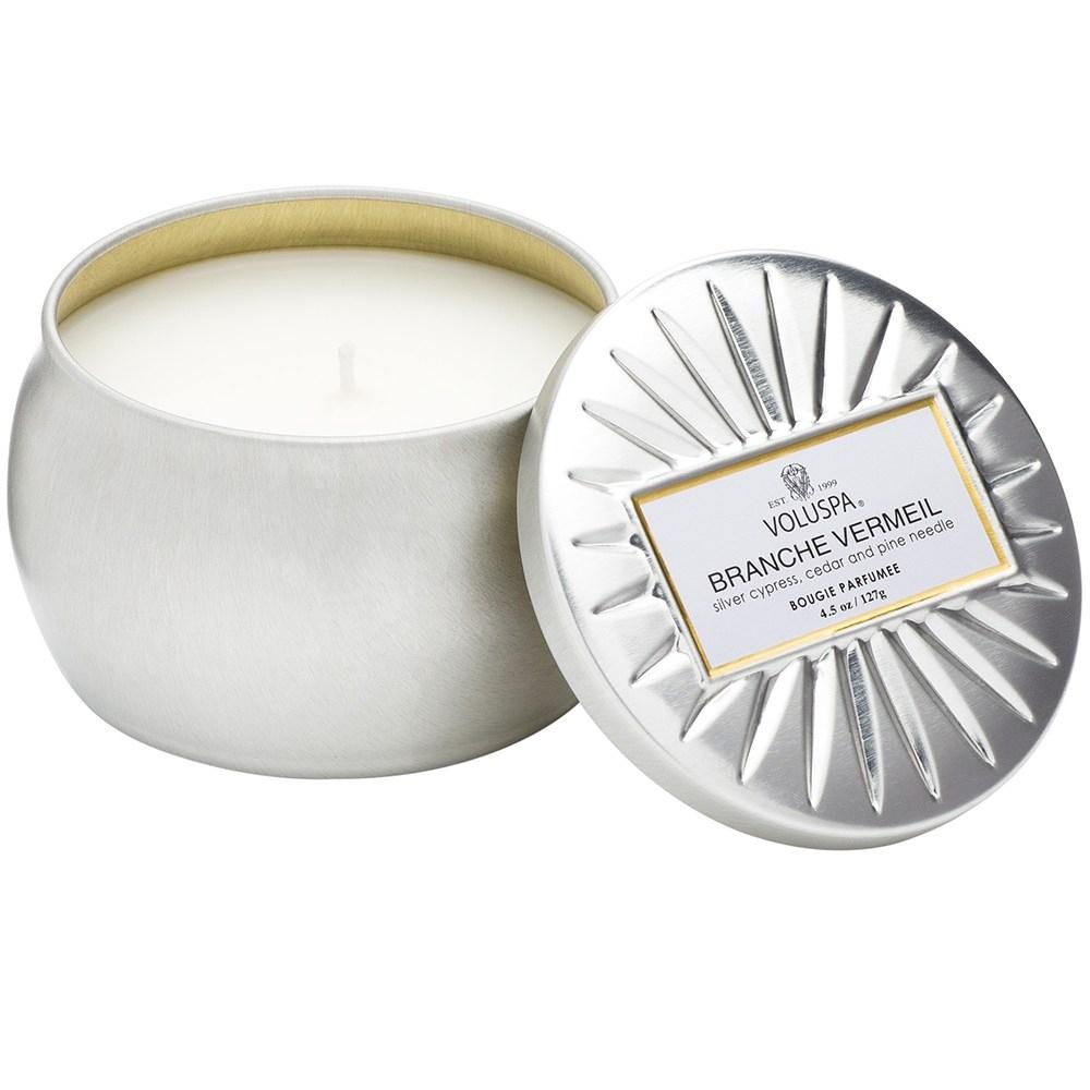 VOLUSPA 天然蠟燭 銀色森林 4.5oz