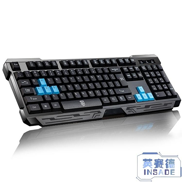 有線鍵盤機械手感usb筆記本臺式電腦家用辦公游戲通用【英賽德3C數碼館】