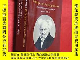 二手書博民逛書店Schopenhauer:罕見Parerga and Paral