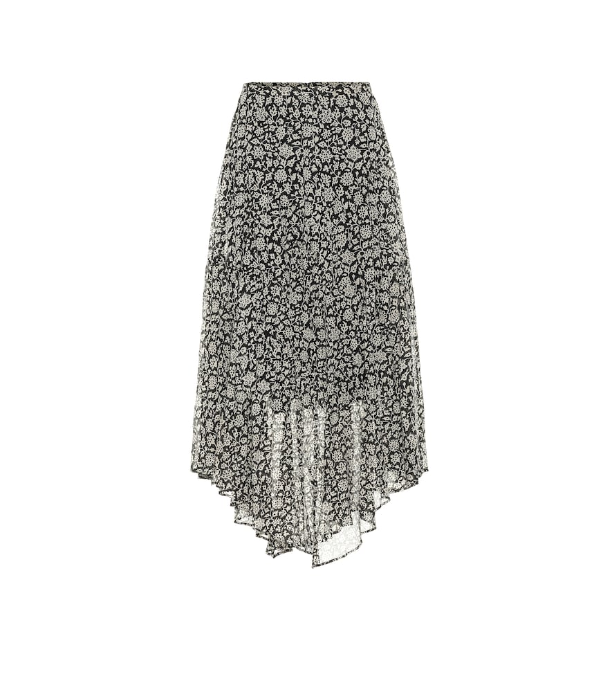 Pabna cotton voile midi skirt