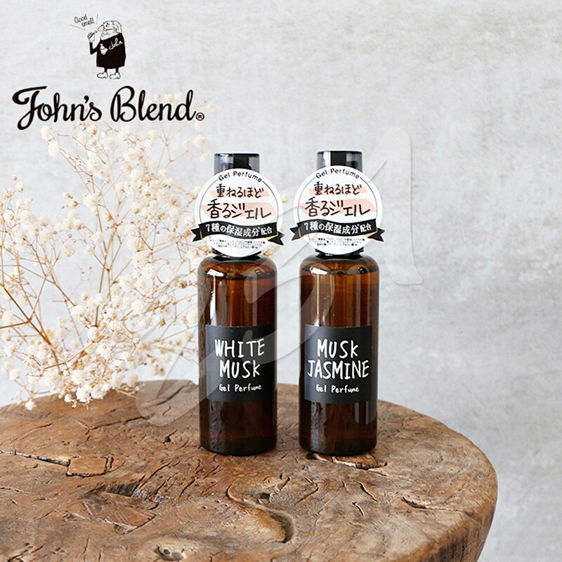 日本 john's blend 保濕香氛凝露 60ml 凝膠香水 香水