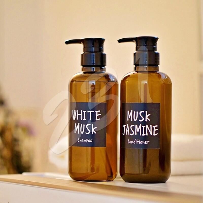 日本 john's blend 香氛洗髮精/潤髮乳460ml 保濕修護精華 撫平毛躁 頭皮紅癢乾燥