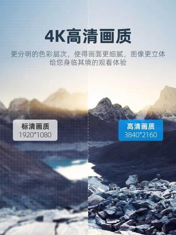 同屏器 無線同屏器4k手機連接電視線投屏接收器顯示器投影hdmi高清轉接線