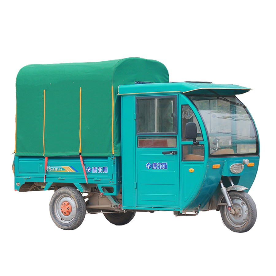 電動三輪車車棚后車廂棚后廂蓬車斗蓬篷8腿方管雨棚快遞車蓬加厚