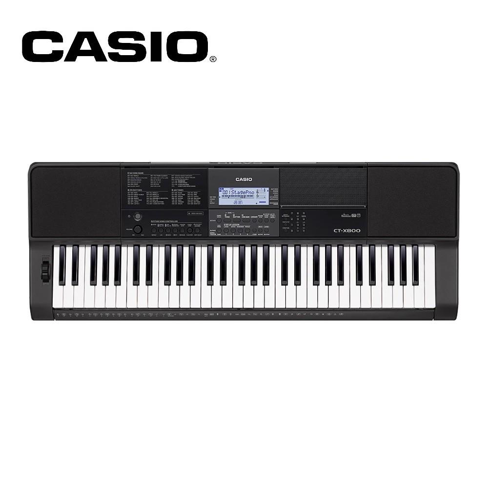 CASIO CT-X800 61鍵標準型電子琴【敦煌樂器】