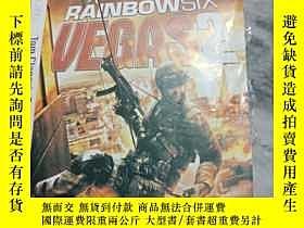 二手書博民逛書店遊戲光盤罕見XBOX 360 RAINBOW SIX VEGAS