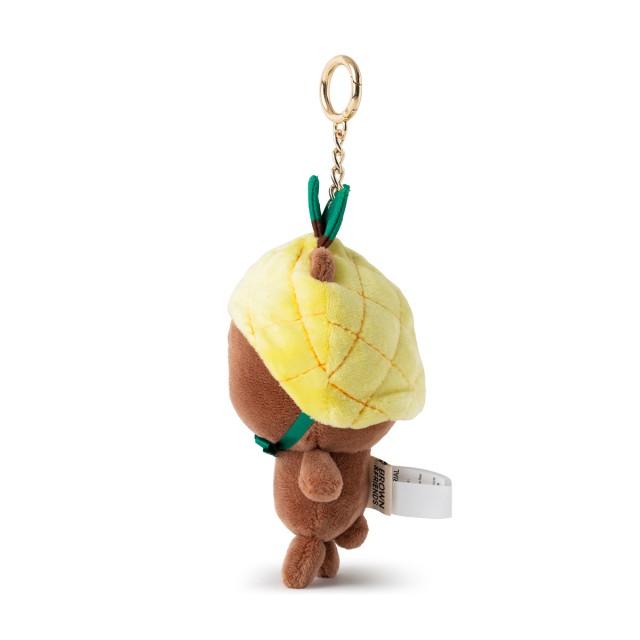鳳梨熊大 玩偶吊飾(FRUITY系列)(員工限定不符資格取消訂單)
