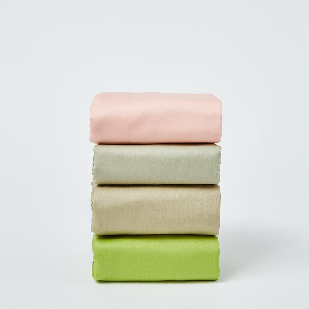 平織防蹣筒型枕頭套 抗菌 防蹣 除臭 平織滑順