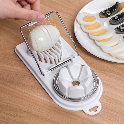 多功能切蛋器 家用切雞蛋 切皮蛋神器 (顏色隨機出貨)