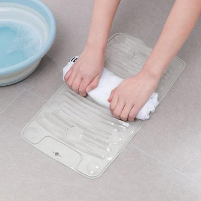 矽膠搓衣板 家用小洗衣板 多功能折疊迷你軟橡膠