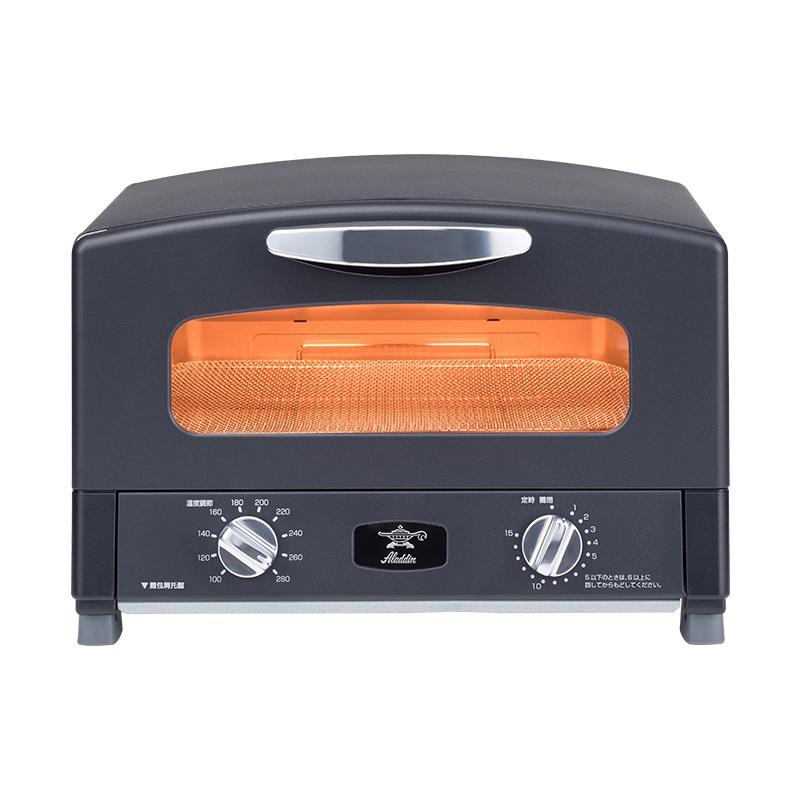 【日本 Sengoku Aladdin】千石阿拉丁烤箱  AET-G13T 霧光黑