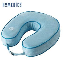 美國 HOMEDICS 記憶泡棉震動按摩頸枕 (黑色/藍色) TA-NMSQ220BK   輕巧方便好攜帶