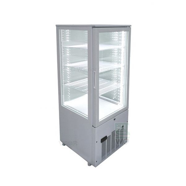 JCM 188公升冷藏展示櫃 SC-188F 直立四面玻璃 適用 KTV、酒吧、超市