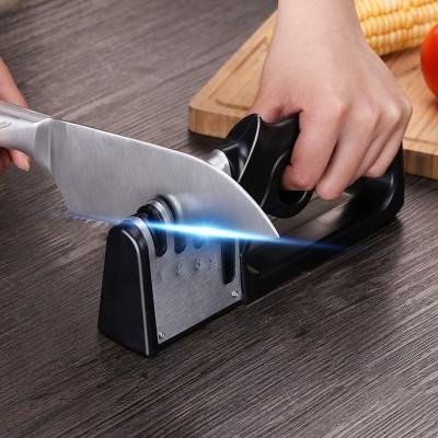 多功能磨刀神器 快速磨刀器 菜刀水果刀剪刀磨刀石