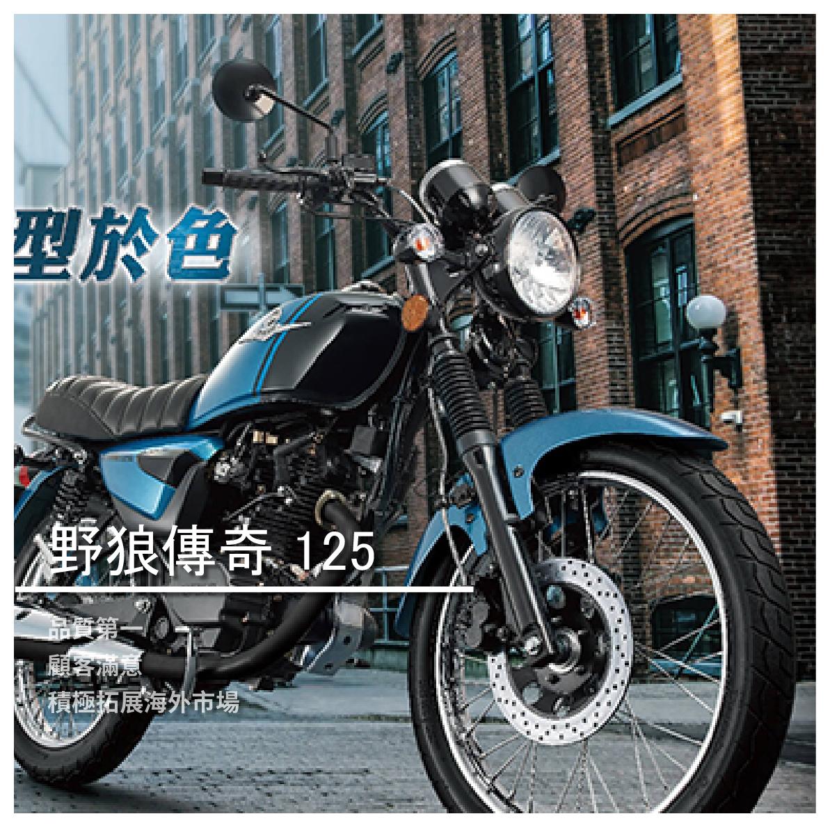【鋐安車業】SYM 三陽系列 野狼傳奇 125
