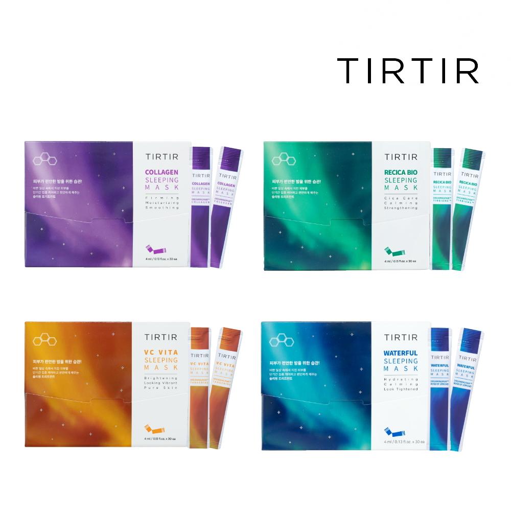 TIRTIR肌膚能量補充晚安面膜(亮白保濕撫紋舒緩)