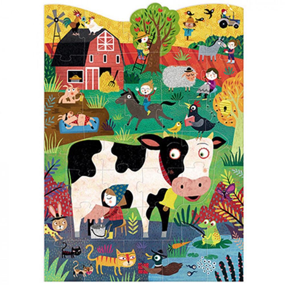 西班牙Londji 乳牛拼圖