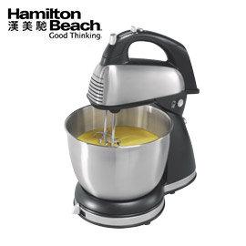美國漢美馳 Hamilton Beach 健康手持/直立式雙軸攪拌機   攪拌/混合/打發 一機多用