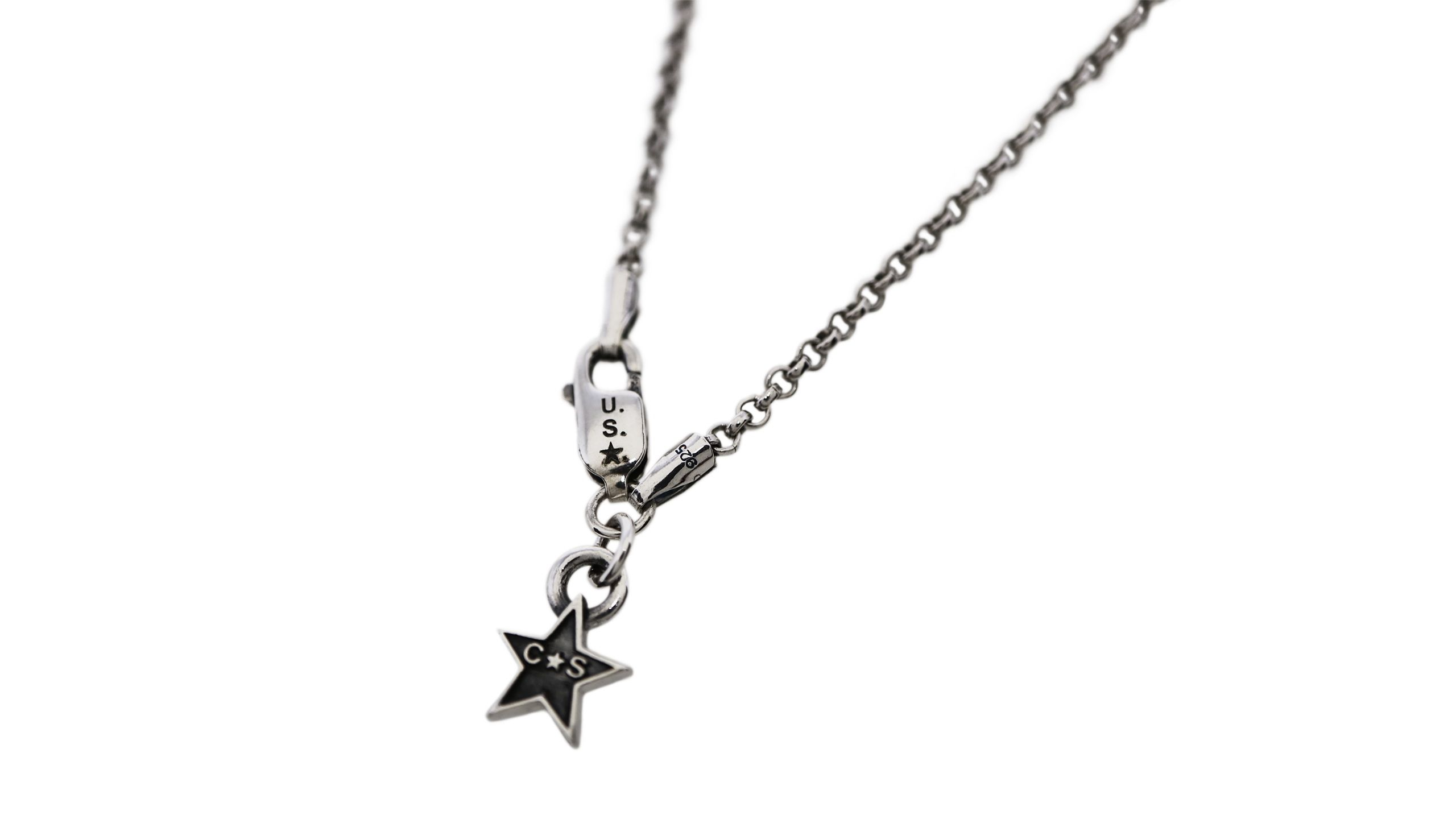CS TINY STAR LOGO CHAIN (16 inch)  [USD $300]