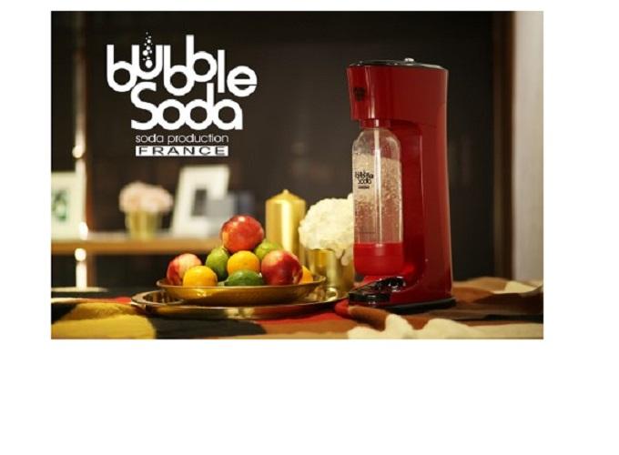 法國 BubbleSoda 專利免插電可調式氣泡水機 BS-809