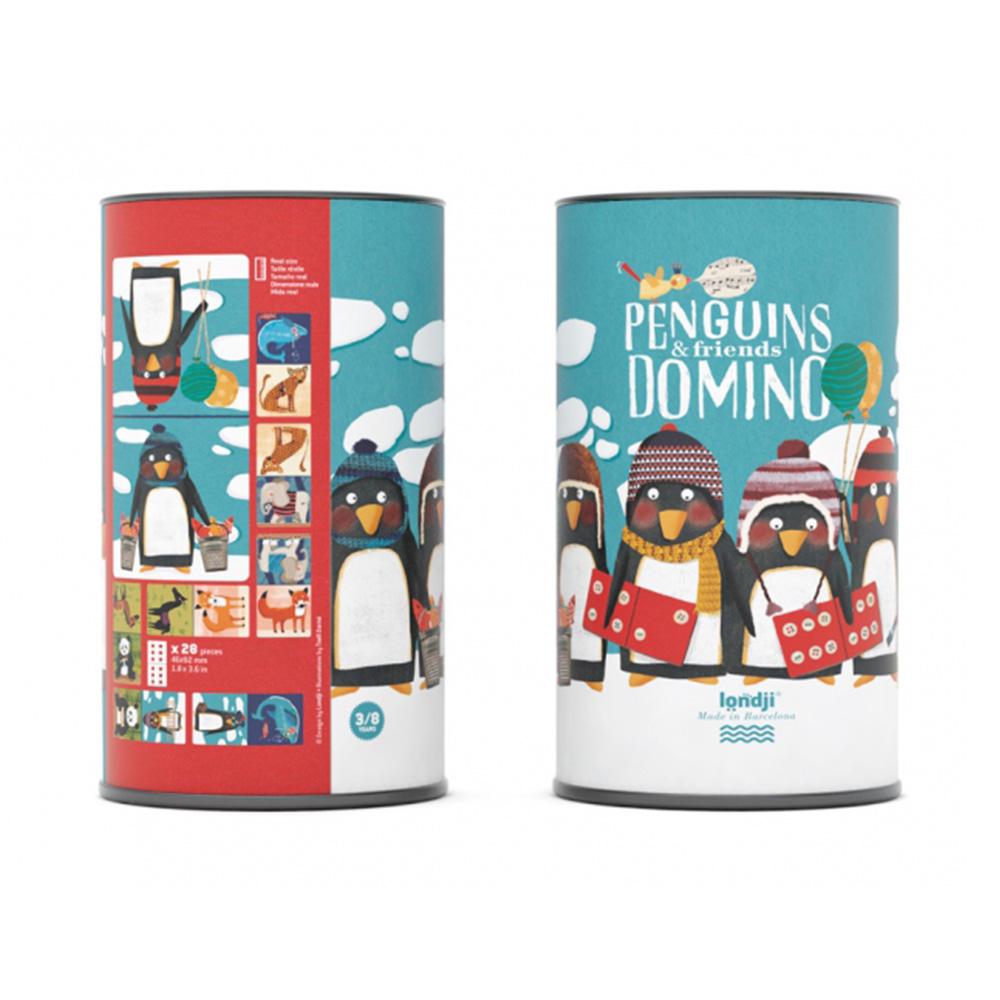 西班牙Londji 企鵝好朋友骨牌遊戲