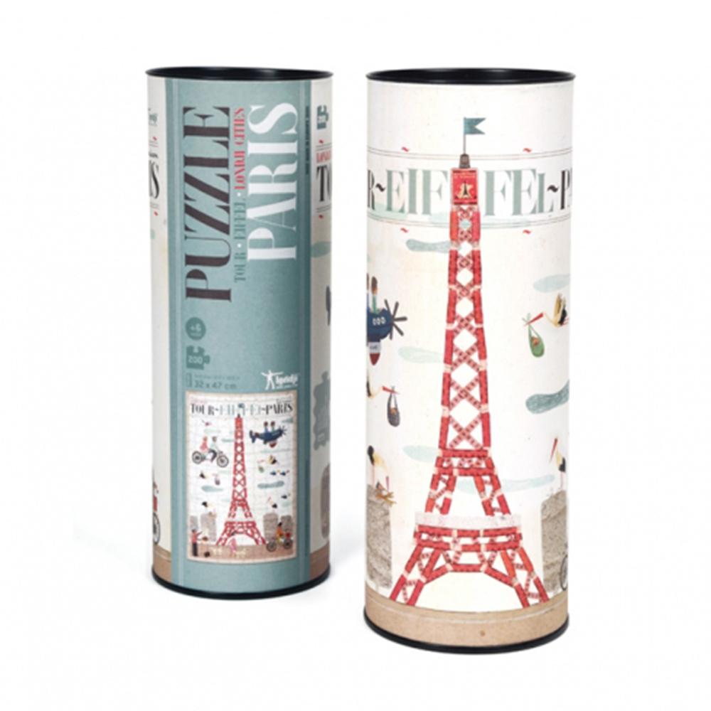 西班牙Londji 巴黎艾菲爾鐵塔-進階景點拼圖